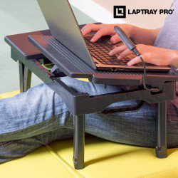 Table Portable Multi Fonction Laptray Pro