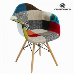 Chaise pp patchwork by Craften Wood