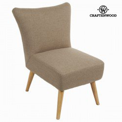 Fauteuil sixty beige - Collection Love Sixty by Craften Wood
