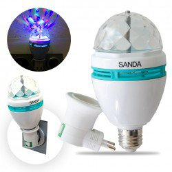 AMPOULE TOURNANTE LED PARTY
