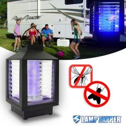 LAMP ZAPPER, Lampe anti-insectes