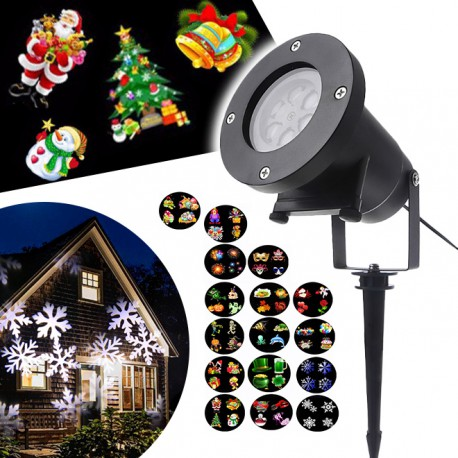 Star shower laser show projecteur led achetez chez for Projecteur led laser