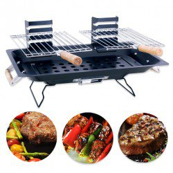 BARBECUE PORTATIL DOUBLE GRIL