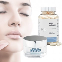 PACK DE 120 CAPSULES DE COLLAGÈNE ET GEL FACIAL 50ML