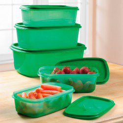 TUPPERWARES GREEN FOOD ALWAYS FRESH