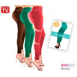 SLIM JEANS AMINCISSANTS COLORS SET